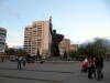 Ein Denkmal für die Stadtbefreier am 23.08.1943 ist ein beliebter Treffpunkt für Sportler geworden +++ Памятник освободителям города 23 августа 1943 года стал местом встречи спортсменов