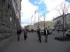 Früher standen hier immer die Straßenfotografen, diesmal hat Olga diese Rolle übernommen +++ Раньше на этом месте всегда стояли уличные фотографы, на этот раз Ольга заняла их место