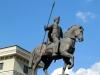 Denkmal für den Kosaken Charko, welcher der Legende nach die Stadt Charkow gründete +++ Памятник козаку Харько, который по легенде был основателем города Харькова