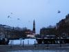In Wiesbaden gibt es, wie man es hier deutlich sehen kann, auch Geistertauben!