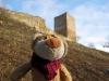 Drei Gleichen-Wanderung: als erstes gehen wir zu der Burg Gleichen