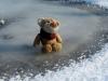 Drei Gleichen-Wanderung: die Eispfützen sind gemein, bin auf einer ausgerutscht. ..