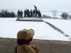 Gedenkstätte Buchenwald: meine Bärenmama sagt, dass es für die kleinen Bären ganz schön schweres Thema ist - deshalb ist das das Einzige, was ich sehen darf.