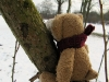 Weimar: im Park an der Ilm ruhe ich mich nach einem Spaziergang aus