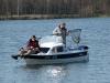 Angler haben Glück, der Hecht hat Pech