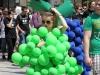 Die polnischen Studentinnen sind z.T. sehr kreativ bei ihrer Verkleidung für die größte Studentenfete des Jahres