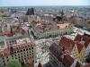 Aber von der Turmspitze aus sieht man die schönsten Seiten von Breslau