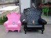 In Küssnacht gibt es auch tolle Sessel - allerdings müssen Heini und Kleiner Dinkelmann noch etwas mehr essen, um diese Sitze gut auszufüllen