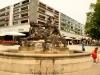 Nymphenbrunnen I & II am Neustädter Markt (Innere Neustadt) - linke Seite