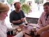 Wir sind anschließend mit einem weiteren deutschen Pärchen von der Hochzeitsgesellschaft in Kolomyja unterwegs gewesen