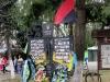 'Himmlisches 100' ... so nennt man die Gedenkstätten mit den Gefallenen des aktuellen Krieges in der Ostukraine