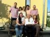 Nachmittags Besuch bei den Eltern der Braut (v.l.o.): Carsten, die Mutter, die Schwester, der Ehemann, der Vater, Olga, der Opa und die Braut Khrystyna