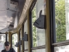 ... inklusive antiquierten Fahrkartenentwerter an jedem Fensterholm zum Selbstdrücken. Im ukrainischen und Russischen heißen die Teile 'Komposter'