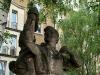 Diese Figurengruppe 'Junge Pioniere' haben wir fast zufällig im Vorbeifahren auf der Grunaer Straße in Dresden entdeckt. Dabei steht sie am gleichen Ort schon seit 1954 und wir fahren fast wöchentlich dran vorbei!
