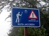 Dieser Schild auf Gran Canaria überraschte mich, denn nahezu überall auf dem westeuropäischen Festland gibt es immer irgendeinen Hinweise zum Jakobsweg zu finden ... aber es auf einer Insel zu sehen, habe ich irgendwie nicht erwartet