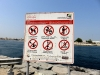 Eine Aufstellung von verbotenen Dingen in Dubai bzw. am Strand